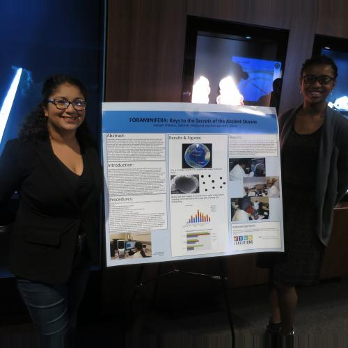 Gabriela Villaneuva & Aaliyah Shabazz present Foraminifera: Keys to the Secrets of the Ancient Oceans