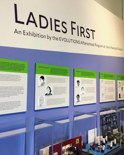 The 2018 EVOLUTIONS Exhibit, Ladies First, highlights the accomplishments of underrepresented women in STEM.